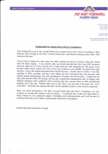 The Way Forward NorthEast HR Advice Testimonial