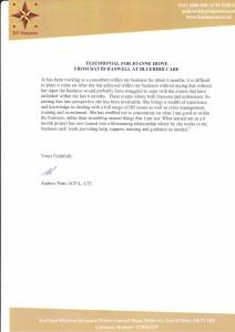 KP Simpson CPA HR Support Testimonial